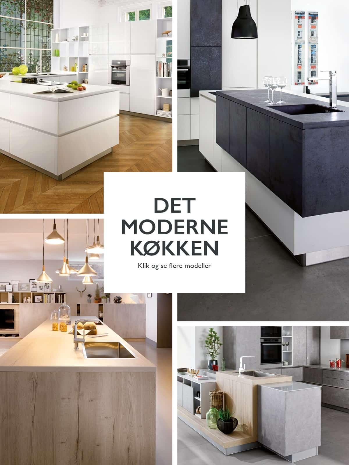 Det moderne køkken hos Schmidt