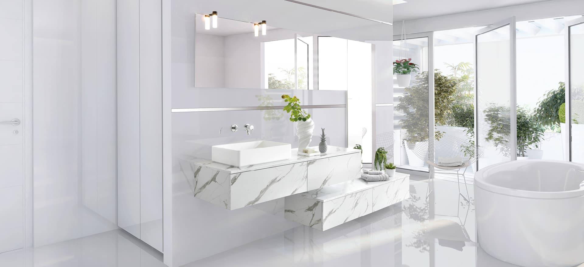 arcos marmor slut med de sm badev relser og frem med pladsen. Black Bedroom Furniture Sets. Home Design Ideas