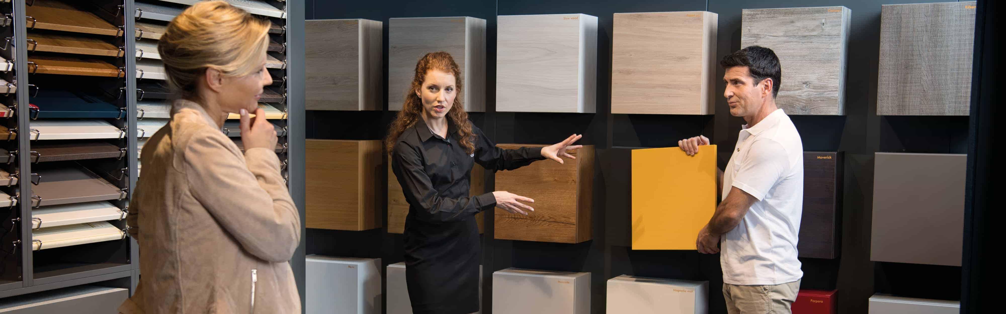 Schmidt-konsulent inspirerer og giver ideer til nyt køkken