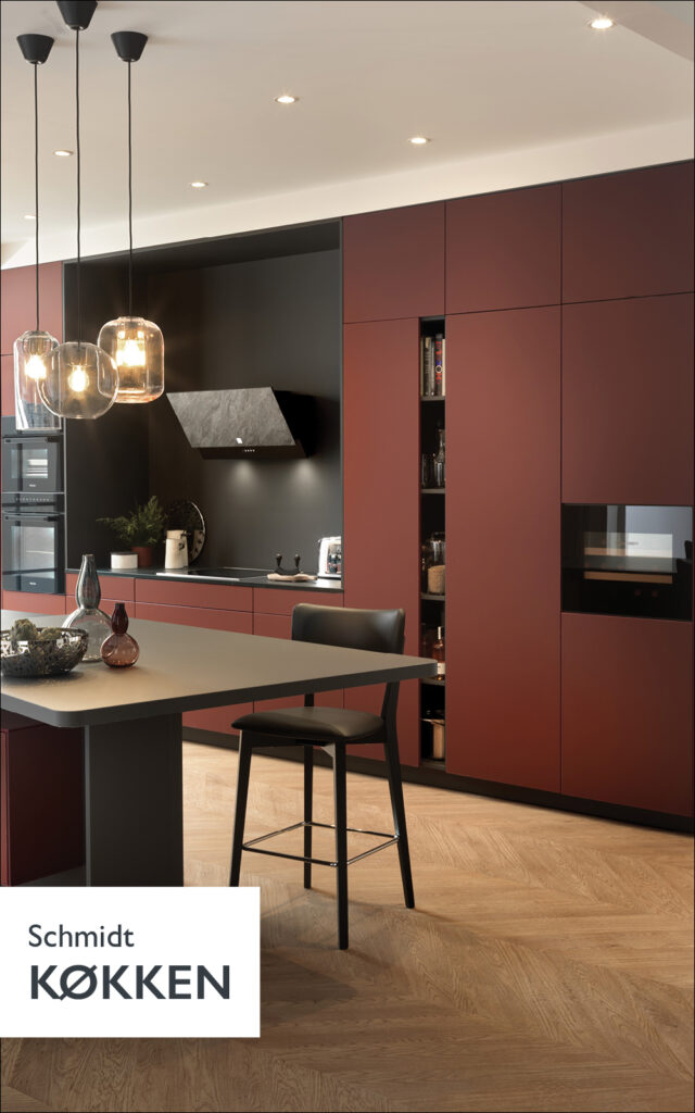 Schmidt Køkken, find inspiration til dit nye køkken her.
