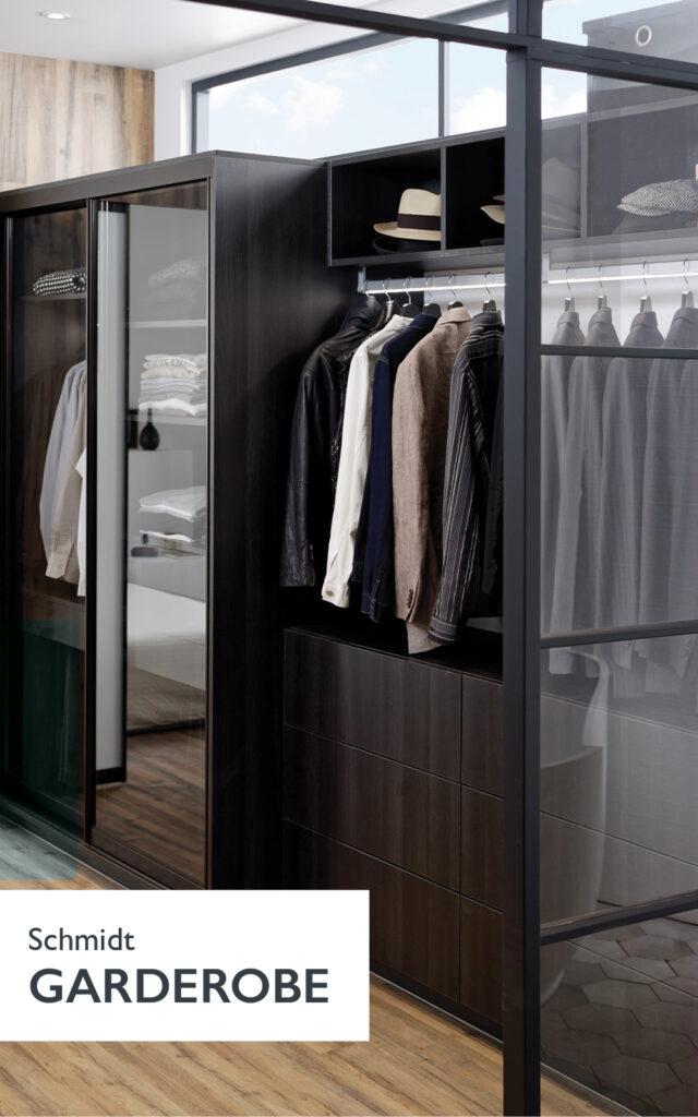 Schmidt Garderobe, find inspiration til din nye garderobe her.