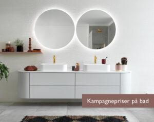 Moderne gråt bad i moderne design