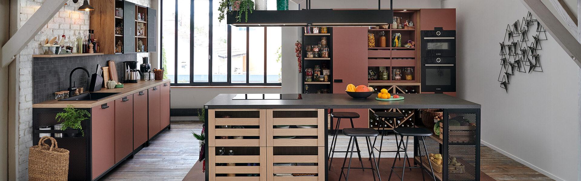 Moderne køkkenalrum