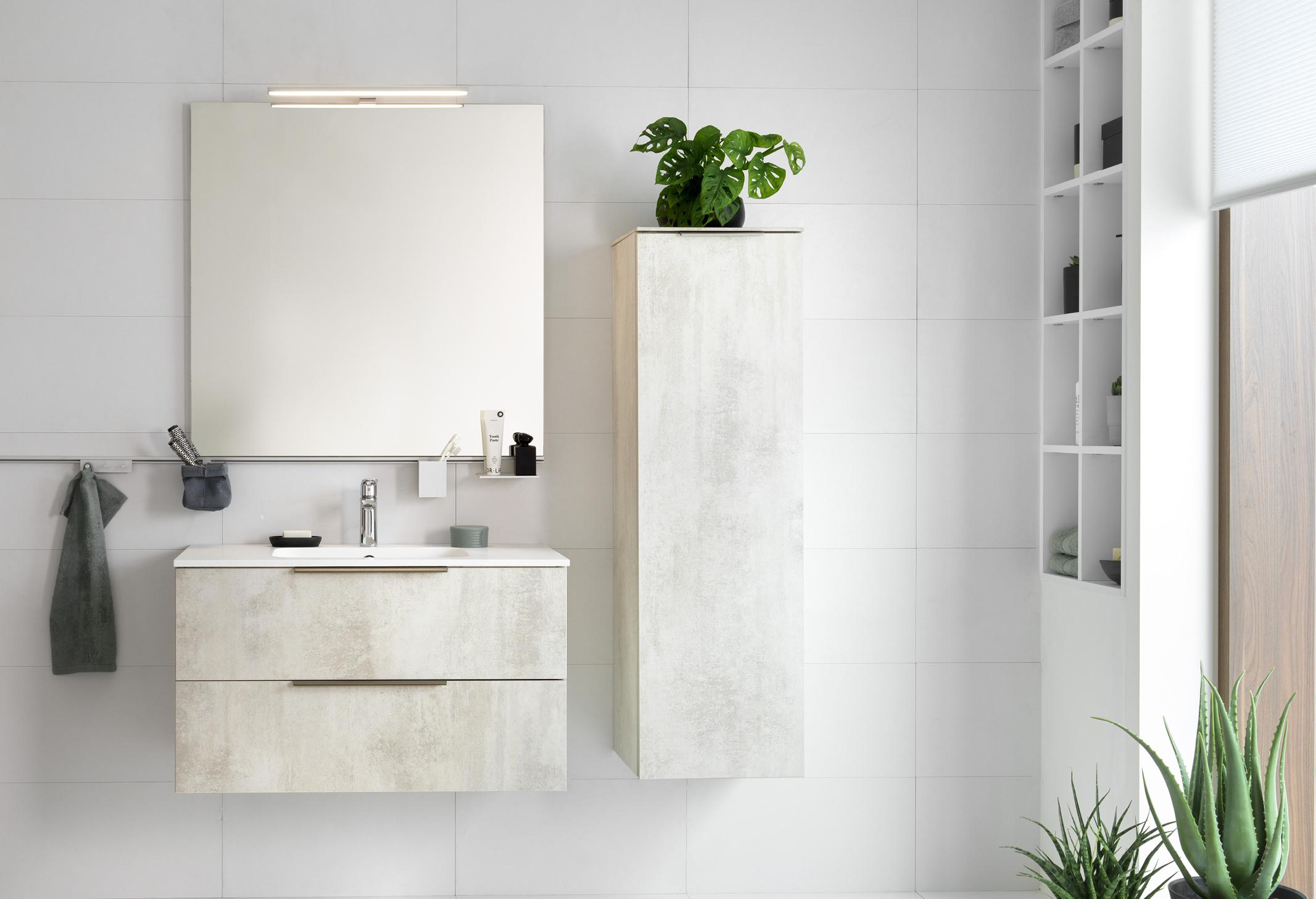 badværelse i lyse faver